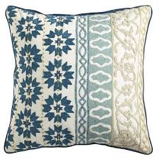 Best Throw Pillows Living Room BlueIndigo  Brown Leather - Decorative pillows living room