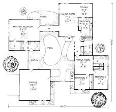 home plans with courtyards courtyard house plans second floor plan courtyard house plans