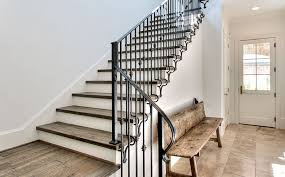 Stairway Banisters Rod Iron Stair Railing Make Your Stairway Shine
