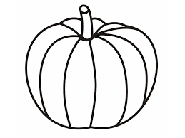 best pumpkin outline printable 22948 clipartion com