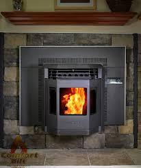 amazon com comfortbilt hp22i pellet stove fireplace insert 42 000