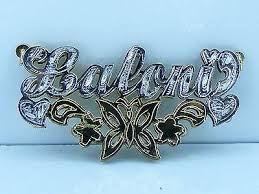 Nameplate Necklace Double Plated Name Plate Collection On Ebay