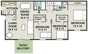 Bathroom Floor Plans With Walk In Closets Apartments In Winter Park Signal Pointe Floor Plans