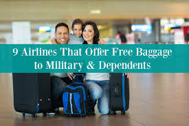 United Airlines International Baggage Allowance by 9 Airlines That Offer Free Baggage To Military U0026 Dependents