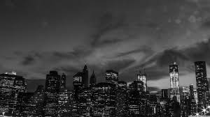 3440 X 1440 Wallpaper New York by New York City Black And White At Night 4k Hd Desktop Wallpaper