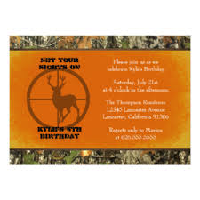 camo invitations u0026 announcements zazzle