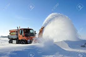snow machine snow machine cleaning road stock photo picture and royalty free