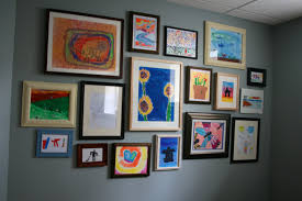 home art gallery design art gallery blank picture frames brick wall background surripui net