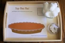 montessori inspired thanksgiving math activities and free