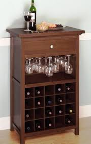 wine rack table bar furniture southbaynorton interior home