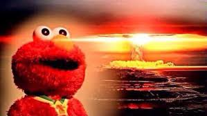 Elmo Meme - elmo witnesses destruction sesame street know your meme