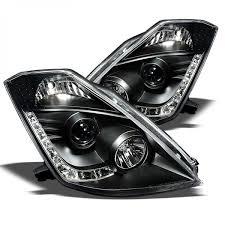 nissan 350z xenon headlights spyder 2003 2005 nissan 350z headlights