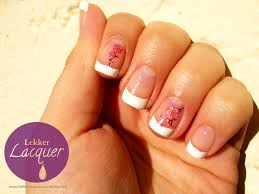french manicure lekker lacquer