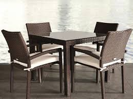 Square Patio Tables Popular Of Square Patio Dining Table Glamorous Rattan Wicker Patio