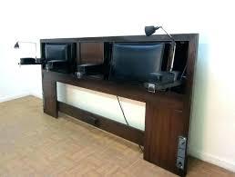 King Size Storage Headboard Headboard With Storage Bookcase Headboard Storage Bed