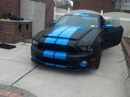 2012 Black Mustang 2012 Ford Mustang Love The Blue On Black My Dream Garage