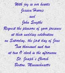 how to write wedding invitations invitation wording