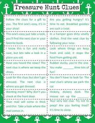 backyard treasure hunt clues for a counting by tens puzzle hunt scavenger hunt clues