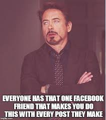 How To Make A Facebook Meme - face you make robert downey jr meme imgflip
