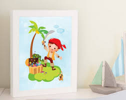 Pirate Room Decor Boys Pirate Room Etsy