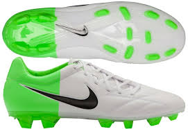 Nike T90 soccer cleats nike t90 strike iv fg soccer cleats in white and