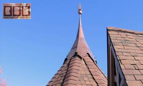 Roof Finials Spires by Cbd U0027s Marinick Turret Roof Caps
