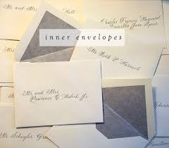 how to address an envelope everlycalligraphyblog