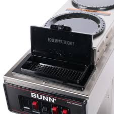 bunn 12950 0356 cwt15 automatic 12 cup coffee brewer with 2 upper