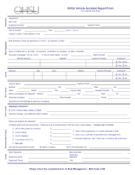 accident report template pdf