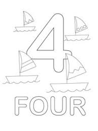 free printable number coloring pages shape coloring pages google search color pages pinterest
