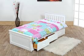 Cabin Bed Frame Beds 3ft Pine Captains Bed With Underbed 2 X Sprung