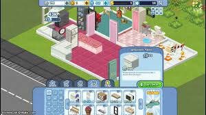 how i rearrange my house in the sims social in facebook youtube