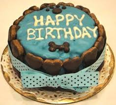 happy birthday bone doggy cake this is just what i was looking