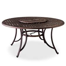 Umbrella Table Lazy Susan by Folwell 60