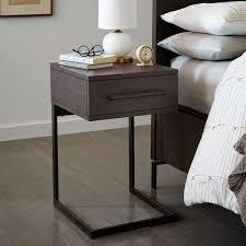 nash c base bedside table â u20ac u201c mineral west elm uk