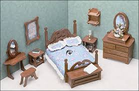 free miniature dollhouse plans genuine woodworking projects