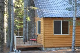 central oregon cascades fishing lodges do double duty as winter view full sizea cabin that has been modernized at odell lake lodge terry richard the oregonian