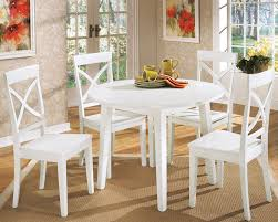 Kitchen Tables And Chairs Cheap by Round White Kitchen Table U2013 Home Design And Decorating