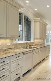 Kitchen Tile Ideas With White Cabinets Best 25 Granite Backsplash Ideas On Pinterest Kitchen Cabinets