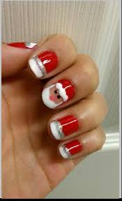 easy christmas nail designs easy way nail art with you in pictures