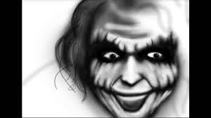 tutorial gambar joker gambar joker ngeri youtube