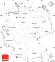 Blank Political Map by Blank Simple Map Of Germany Cropped Outside
