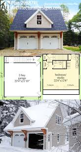 Garage Apartment Plan 58563 Total Living Area 459 Sq Ft 1