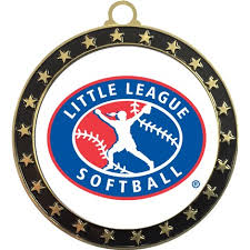 Softball Christmas Ornament - softball medals wilson trophy