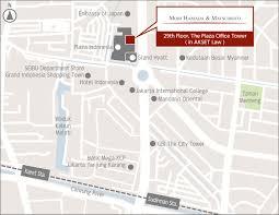 Map Of Jakarta Jakarta Mori Hamada U0026 Matsumoto