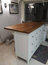 kitchen island ikea hack amazing hemnes karl kitchen island storage and seating ikea hackers