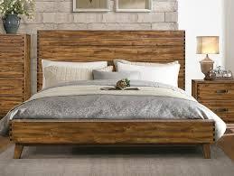 Platform Bed Frame King Wood Bedroom Solid King Bed Frame Flat Platform Bed Frame King