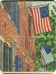 Philadelphia Flag Colonial Colors U2013 Drawn The Road Again