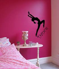 Wall Bedroom Stickers Dance Bedroom Stickers Wall Art Wall Decor Sticker By Stickease