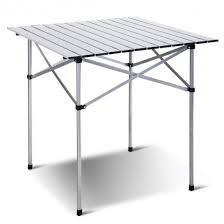 portable folding picnic table roll up portable folding cing aluminum picnic table outdoor